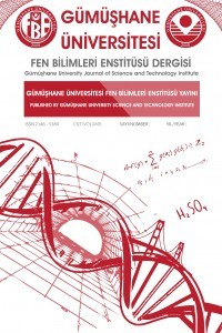Gümüşhane University Journal of Science and Technology Institute